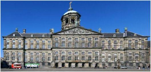 Hauptort der Feierlichkeiten: Der königliche Palast in Amsterdam.