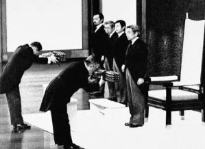 1989 trat Akihito die Nachfolge seines Vaters an.
